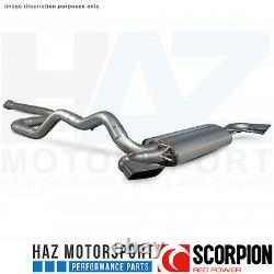 Vauxhall Astra J VXR 12-17 Scorpion 3 Non-Res Catback Exhaust Polished Fits OE