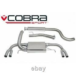 Vauxhall Astra J VXR Resonated Cat Back Cobra Sport Exhaust VX24