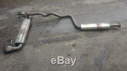 Vauxhall Astra J Vxr 2012-15 Reg Exhaust System Middle Exhaust & Back Box