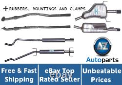 Vauxhall Astra MK 5 (H) 1.6 1.8 Exhaust System + Mountings, Clamps, Gaskets