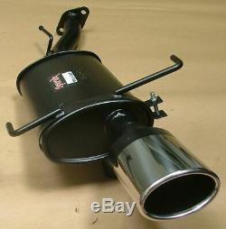 Vauxhall Astra MK4 Coupe Sportex Exhaust Tailbox Oval