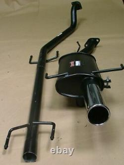 Vauxhall Astra MK4 Coupe Sportex'Race' Exhaust System Single 4