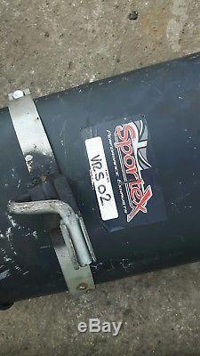 Vauxhall Astra Mk3 Saab Turbo B204 exhaust System Gsi Sportex