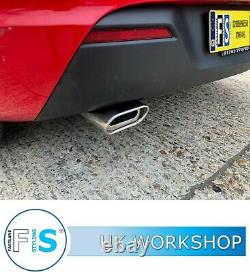 Vauxhall Astra Stainless Steel Backbox Delete Custom Exhaust Supply And Fit