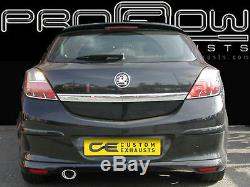Vauxhall Astra Stainless Steel Custom Built Exhaust Back Box Single Tail Pipes