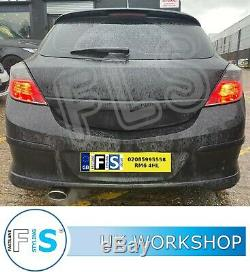 Vauxhall Astra Stainless Steel Single Cat Back Exhaust System Supply and Fitted