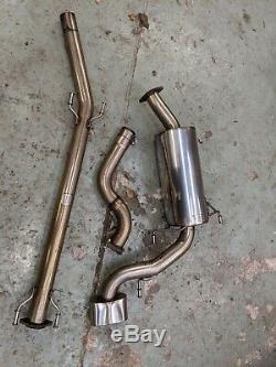 Vauxhall Astra VXR Miltek Exhaust