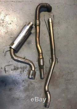 Vauxhall Astra Z20LET Piper 3 turbo back exhaust with 200cell sports cat