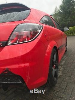 Vauxhall Astra vxr red with vxr racing looks reluctant sale custom exhaust etc