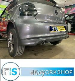 Volkswagen Polo Stainless Steel Exhaust Backbox Delete + Tip Supply And Fitted